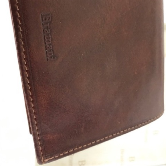 83e6399f2 Accessories | Mens Italian Leather Wallet Vera Pelle Bramani | Poshmark